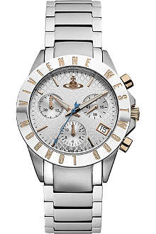 VIVIENNE WESTWOOD Silver-toned watch