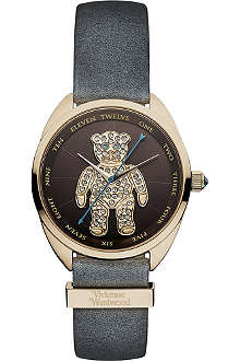 VIVIENNE WESTWOOD Diamanté teddy watch