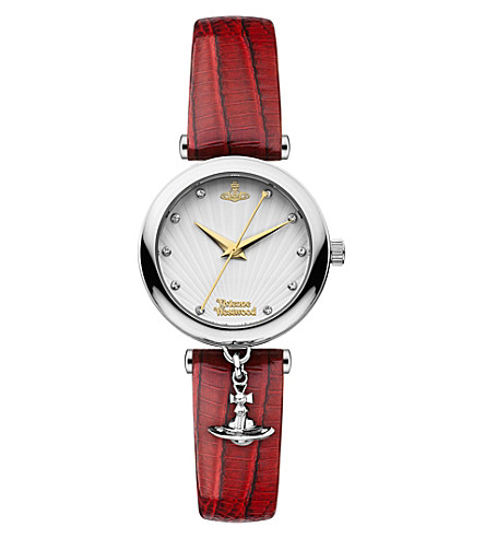VIVIENNE WESTWOOD Trafalgar stainless steel watch (Silver