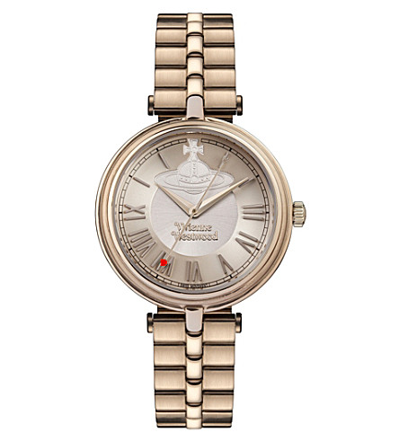VIVIENNE WESTWOOD VV168NUNU Farringdon stainless steel watch