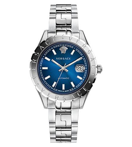 VERSACE Automatic blue dial bracelet strap