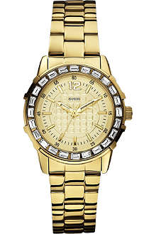 GUESS W0018L2 gold-toned stainless steel watch