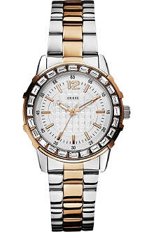 GUESS W0018L3 two-tone stainless steel watch