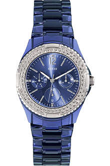 GUESS W0062L1 Rock Candy stainless steel watch