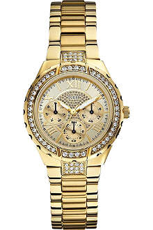 GUESS W0111L2 Viva gold-toned watch