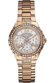 GUESS W0111L3 stainless steel chronograph watch