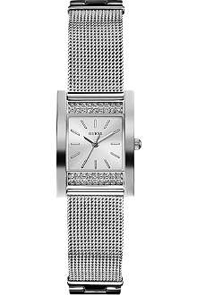 GUESS W0127L1 Nouveau stainless steel watch