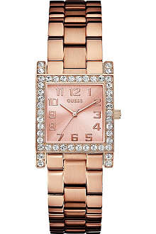 GUESS W0128L3  Stylist rose gold-toned watch
