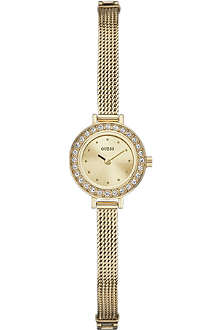 GUESS W0133L2 Sabrina gold-toned stainless steel watch