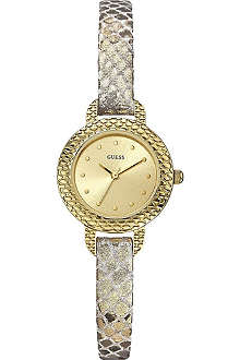 GUESS W0228L2 Spice gold-toned watch