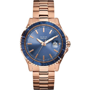 W0244g3 plugged in rose gold-toned watch