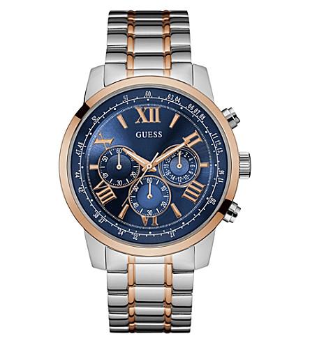 GUESS W0379G7 Horizon two-tone watch