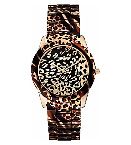 GUESS W0425l3 ladies Vixen watch (Rose+gold
