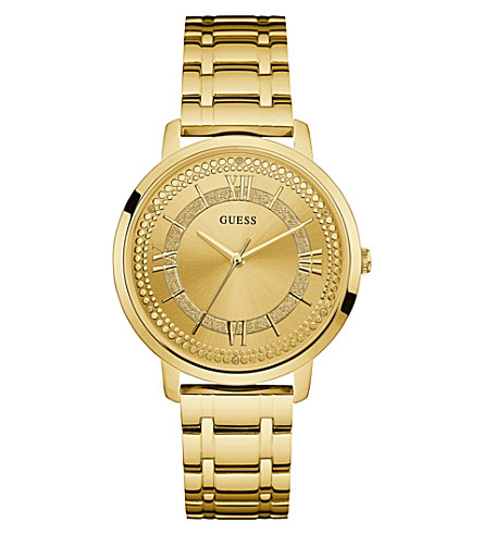 GUESS W0933L2 Montauk gold-plated stainless watch