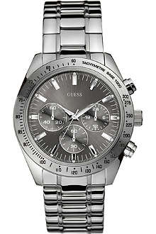 GUESS W13001G1 Chase stainless steel chronograph watch