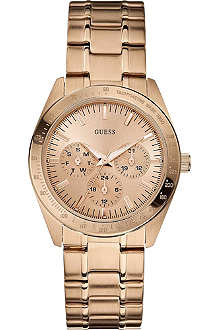 GUESS W13101L1 Chase stainless steel watch