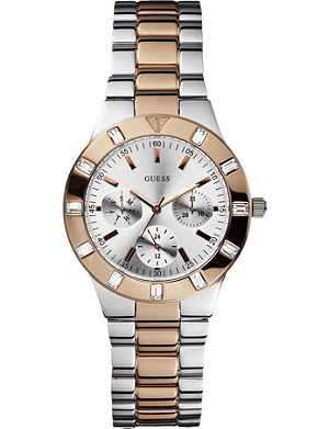 GUESS W14551L1 two-tone stainless steel watch
