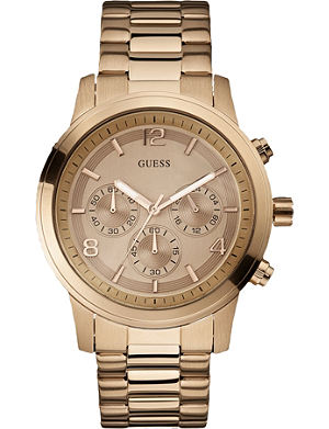 GUESS W17004L1 stainless steel chronograph watch