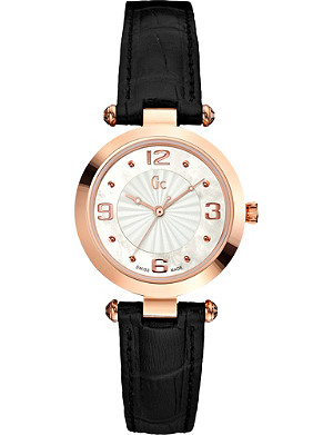 GC X17012L1 Sport Chic Collection gold-toned stainless steel watch
