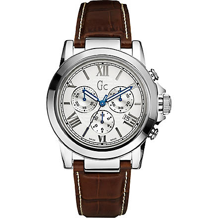 GC X41003G1 B2 Class chronograph watch (Brown