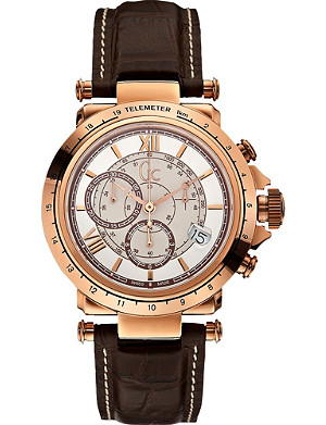GC X44001G1 B1-Class gold-toned steel watch