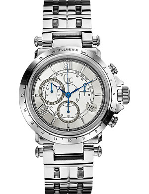 GC X44002G1 B1-Class silver-toned steel watch