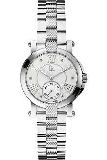 GC X50001L1S Demoiselle silver-toned steel watch
