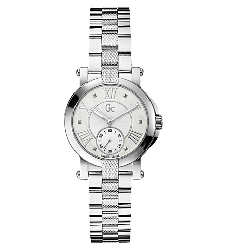 GC X50001L1S Demoiselle silver-toned steel watch (Pearl