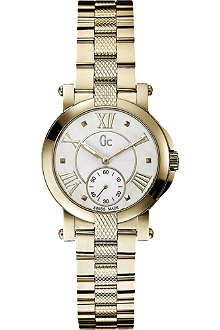 GC X50002L1S Demoiselle PVD yellow gold watch