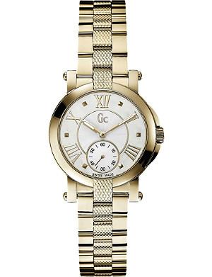 GC X50002L1S Demoiselle PVD yellow gold watch
