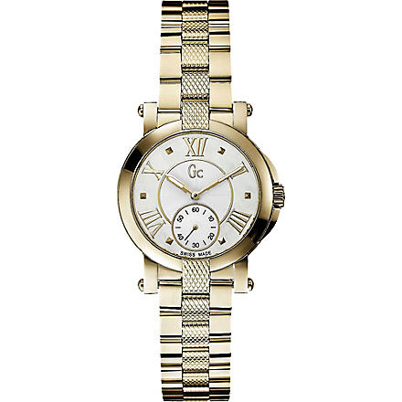 GC X50002L1S Demoiselle PVD yellow gold watch (Pearl