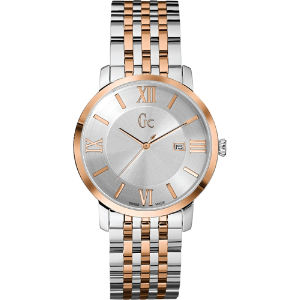 X60018g1s slimclass stainless steel and rose gold-toned watch