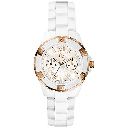 GC X69003L1S Sport Chic watch (White