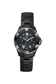 GC X69106L2S Precious diamond-dot ceramic watch
