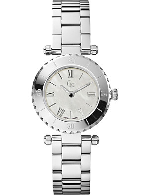 GC X70001L1S silver-toned watch