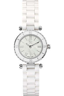 GC X70007L1S Mother-of-pearl bracelet watch