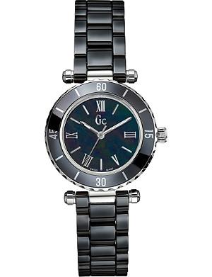 GC X70012L2S mother-of-pearl bracelet watch