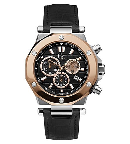 GC GC-3 X72005G2S chronograph watch (Black