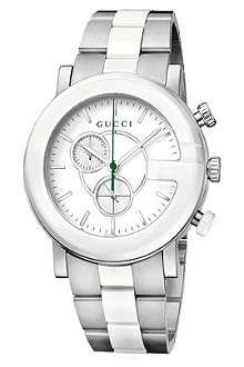 GUCCI YA101345 G-Chrono Collection steel watch