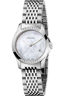 GUCCI YA126510 G-Timeless stainless steel watch