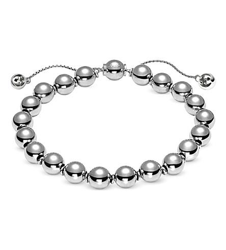 GUCCI Boule beaded sterling silver bracelet