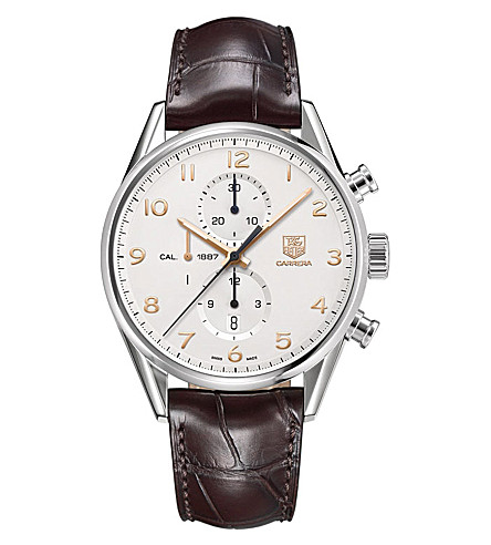 TAG HEUER Carrera Calibre 1887 Automatic Chronograph 43mm (Brown