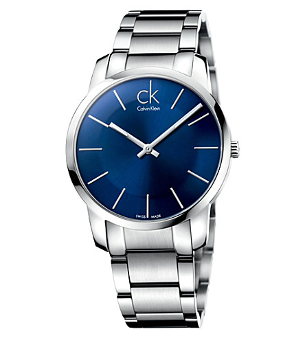 CALVIN KLEIN K2G2114N City stainless steel watch (Black