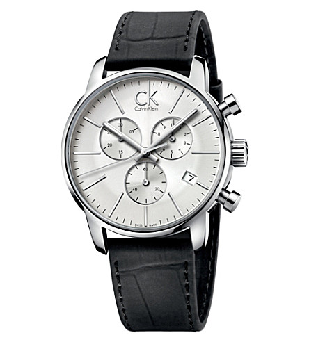 CALVIN KLEIN City chronograph watch (Silver