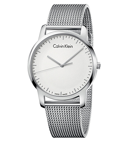 CALVIN KLEIN K2G2G126 City stainless steel watch (White