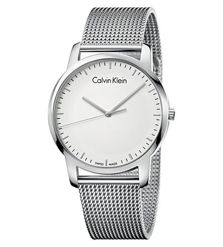 CALVIN KLEIN K2G2G126 City 不锈钢腕表 (白色