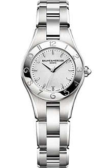BAUME & MERCIER M0A10009 Linea stainless steel watch