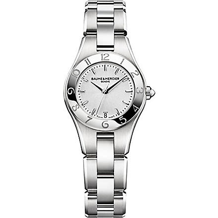 BAUME & MERCIER M0A10009 Linea stainless steel watch (Silver