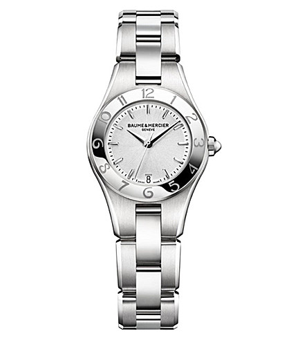 BAUME & MERCIER M0A10009 Linea stainless steel watch (Silver