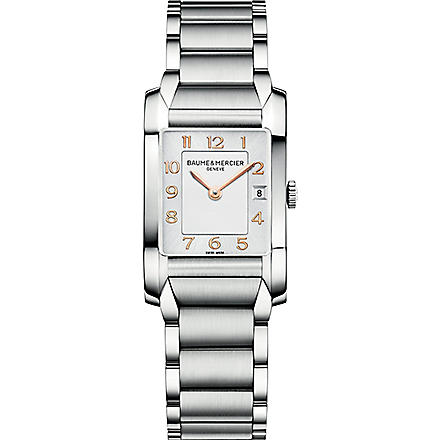 BAUME & MERCIER M0A10049 Hampton stainless steel watch (Silver